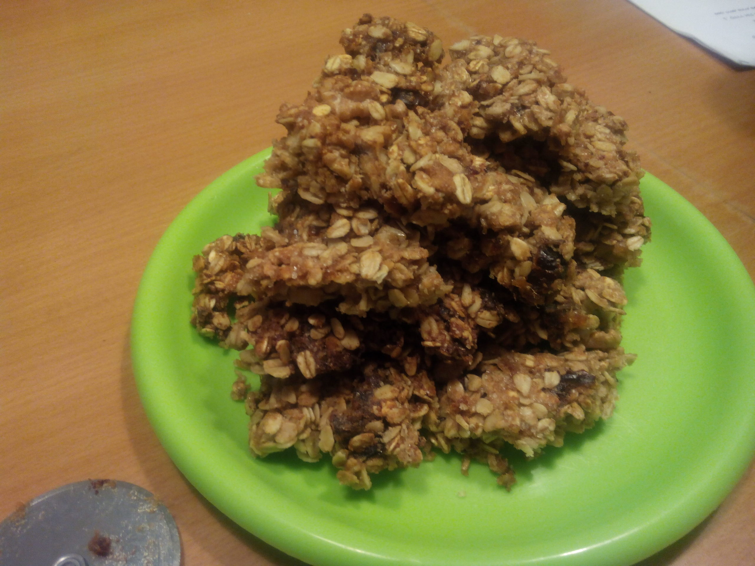 עוגיות גרנולה ביתיות